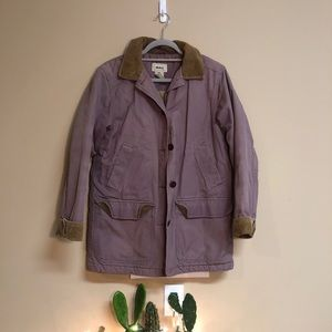 Insulated L.L. Bean Purple Coat Size Small